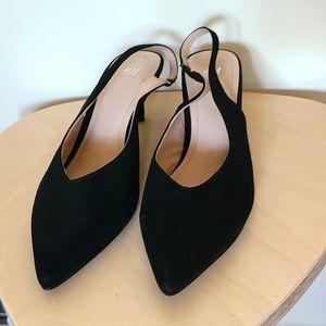 H&M Slingbacks Kitten Heels